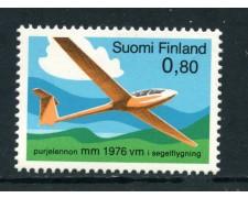 1976 - FINLANDIA - VOLO A VELA - NUOVO - LOTTO/25433