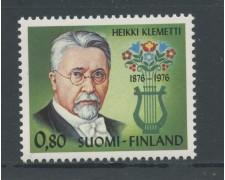 1976 - FINLANDIA - HEIKKI CLEMETTI - NUOVO - LOTTO/25435