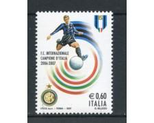2007 - REPUBBLICA - INTER CAMPIONE - NUOVO - LOTTO/25446