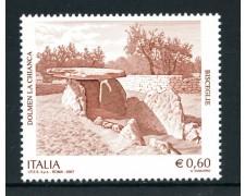 2007 - REPUBBLICA - DOLMEN LA CHIANCA - NUOVO - LOTTO/25447