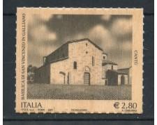 2007 - REPUBBLICA - BASILICA DI GALLIANO CANTU - NUOVO - LOTTO/25448