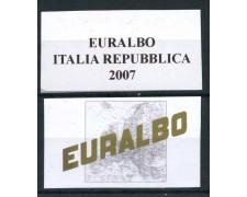 2007 - EURALBO - FOGLI DI AGGIORNAMENTO ITALIA REPUBBLICA - LOTTO/25454