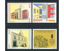 2006 - REPUBBLICA - SCUOLE E UNIVERSITA' 4v. - NUOVI - LOTTO/25456