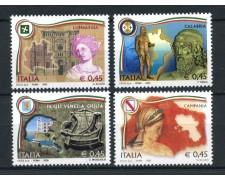 2005 - REPUBBLICA - REGIONI D'ITALIA 4v. - NUOVI - LOTTO/25471
