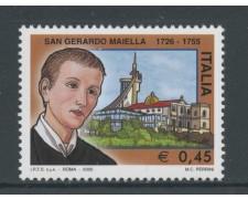 2005 - REPUBBLICA - S.GERARDO MAIELLA - NUOVO - LOTTO/25472