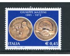 2005 - REPUBBLICA - GIUSEPPE MAZZINI - NUOVO - LOTTO/25474
