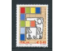 2005 - REPUBBLICA - GIORNATA DELLA FILATELIA - NUOVO - LOTTO/25475