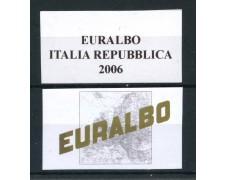 2006 - EURALBO - FOGLI DI AGGIORNAMENTO ITALIA REPUBBLICA - LOTTO/25476