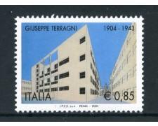 2004 - REPUBBLICA - GIUSEPPE TERRAGNI - NUOVO - LOTTO/25479