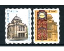 2004 - REPUBBLICA - TEMPIO MAGGIORE DI ROMA 2v. - NUOVI - LOTTO/25480