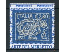2004 - REPUBBLICA - ARTE DEL MERLETTO - NUOVO - LOTTO/25481