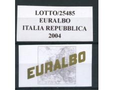 2004 - EURALBO - FOGLI DI AGGIORNAMENTO ITALIA REPUBBLICA - LOTTO/25485