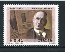 2003 - REPUBBLICA - EUGENIO BALZAN - NUOVO - LOTTO/25560
