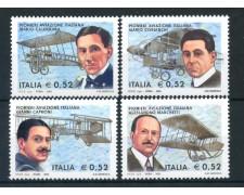 2003 - REPUBBLICA - PIONIERI AVIAZIONE 4v. - NUOVI - LOTTO/25564A