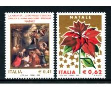 2003 - REPUBBLICA - NATALE 2v. - NUOVI - LOTTO/25572
