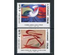 2003 - REPUBBLICA - IL FUTURISMO 2v. - NUOVI - LOTTO/25574