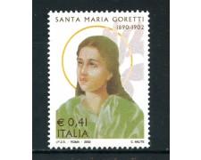 2002 - REPUBBLICA - S.MARIA GORETTI - NUOVO - LOTTO/25613