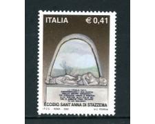 2002 - REPUBBLICA - ECIDIO DI STAZZEMA - NUOVO - LOTTO/25616