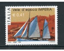 2002 - REPUBBLICA - RADUNO  VELE D'EPOCA - NUOVO - LOTTO/25620