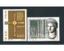2002 - REPUBBLICA - TESORI DEI MUSEI 2v. - NUOVI - LOTTO/26622