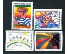 2001 - REPUBBLICA - GIORNATA STUDENTESCA 4v. - NUOVI - LOTTO/25661