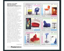 2001 - REPUBBLICA - DESIGN ITALIANO - FOGLIETTO NUOVO - LOTTO/25673