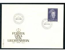 1971 - LIECHTENSTEIN - PRINCIPESSAGEORGINA - BUSTA FDC - LOTTO/25785