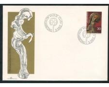 1970 - LIECHTENSTEIN - NATALE - BUSTA FDC - LOTTO/25786