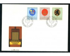 1970 - LIECHTENSTEIN - STEMMI DEI PATRONI - BUSTA FDC - LOTTO/25788