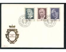 1972 - LIECHTENSTEIN - PIONIERI DELLA FILATELIA - BUSTA FDC - LOTTO/25790
