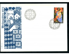 1972 - LIECHTENSTEIN - NATALE - BUSTA FDC - LOTTO/25792