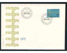 1971 - LIECHTENSTEIN - EUROPA - BUSTA FDC - LOTTO/25795