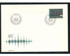 1972 - LIECHTENSTEIN - EUROPA - BUSTA FDC - LOTTO/25796