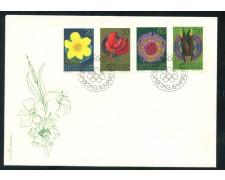 1972 - LIECHTENSTEIN - FIORI - BUSTA FDC - LOTTO/25798