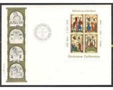 1970 - LIECHTENSTEIN - VON ESCHENBACH - BUSTA FDC - LOTTO/25800