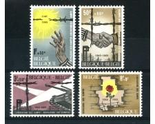 1965 - BELGIO - CAMPI DI PRIGIONIA 4v. - NUOVI - LOTTO/25926