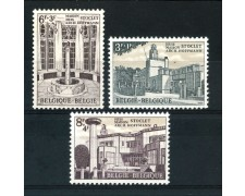 1965 - BELGIO - JOSEF HOFFMANN 3v. - NUOVI - LOTTO/25927