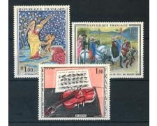 1965 - FRANCIA - OPERE D'ARTE 3v. - NUOVI - LOTTO/25952
