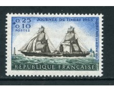 1965 - FRANCIA - GIORNATA DEL FRANCOBOLLO - NUOVO - LOTTO/25954