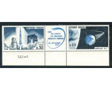 1965 - FRANCIA - PRIMO SATELLITE FRANCESE 2v. - NUOVI - LOTTO/25955