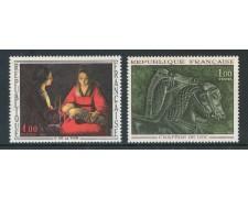1966 - FRANCIA - OPERE D'ARTE 2v. - NUOVI - LOTTO/25957