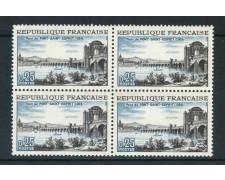 1966 - FRANCIA - PONT-SAINT-ESPRIT - NUOVI - QUARTINA - LOTTO/25959