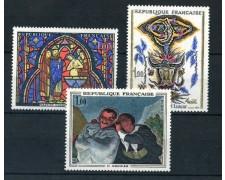 1966 - FRANCIA - OPERE D'ARTE 3v. - NUOVI - LOTTO/25962