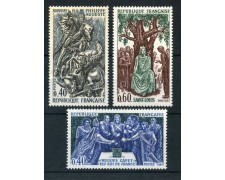 1967 - FRANCIA - STORIA DI FRANCIA 3v. - NUOVI - LOTTO/25969