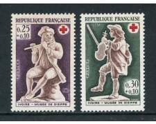 1967 - FRANCIA - CROCE ROSSA 2v. - NUOVI - LOTTO/25970