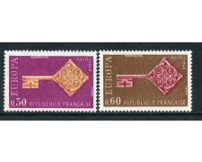 1968 - FRANCIA - EUROPA 2v. - NUOVI - LOTTO/25974