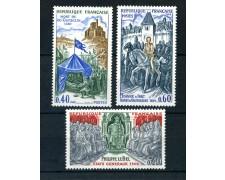 1968 - FRANCIA - STORIA DI FRANCIA 3v. - NUOVI - LOTTO/25976