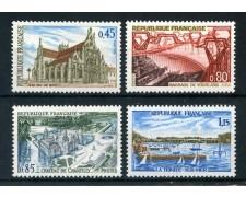 1969 - FRANCIA - SERIE TURISTICA 4v. - NUOVI - LOTTO/25978