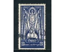 1940 /45 - IRLANDA - 10s. SAN PATRIZIO - USATO - LOTTO/25986