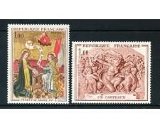 1970 - FRANCIA - OPERE D'ARTE 2v. - NUOVI - LOTTO/25993